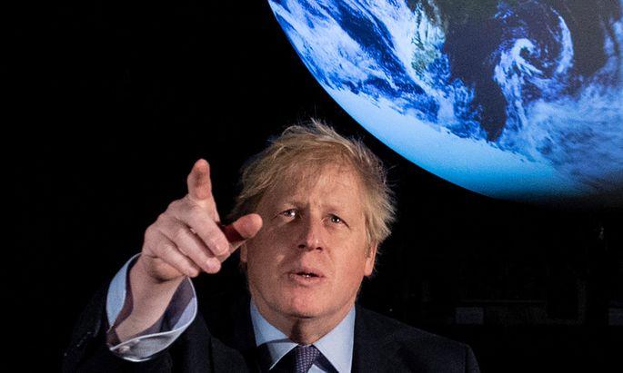 Im November ist Boris Johnson Gastgeber bei der 26. Weltklimakonferenz im schottischen Glasgow. Die Vorbereitungen kommen angeblich schleppend voran.
