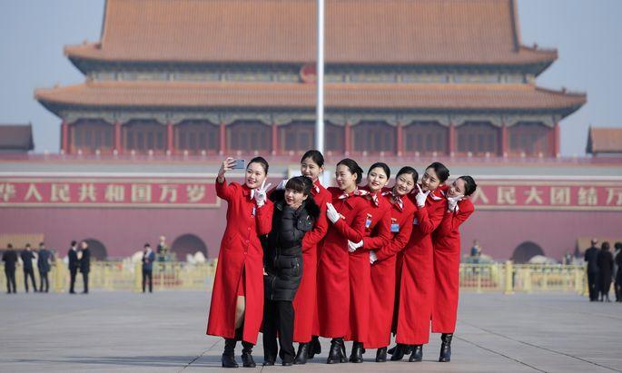 Am Dienstag beginnt in Peking die Tagung des Volkskongresses. Nicht überall ist die Stimmung so fröhlich.