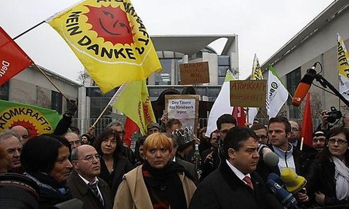 Deutschland: 110.000 Menschen bei Anti-Atom-Protesten