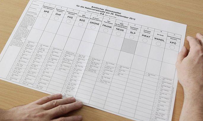 Meinungsforscher gehen davon aus, dass geringfügig weniger Menschen bei der Nationalratswahl ihre Stimme abgeben werden, als noch vor fünf Jahren.