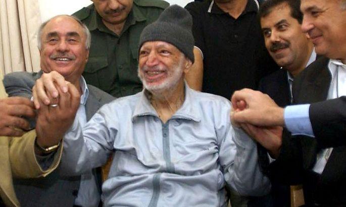 Jassir Arafat litt im Oktober unter