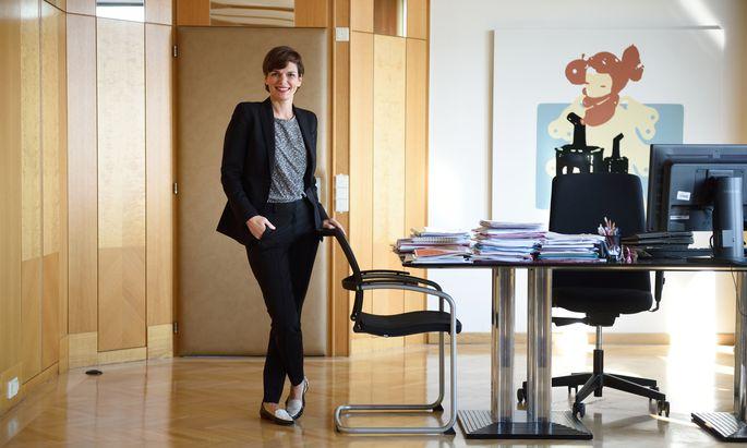 SPÖ-Gesundheits- und Frauenministerin Joy Pamela Rendi-Wagner