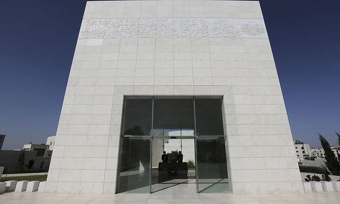 In diesem Mausoleum ist Jassir Arafat begraben.