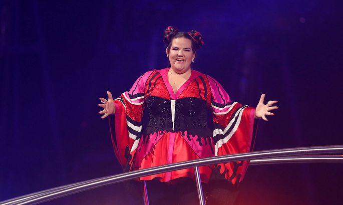 Die israelische Siegerin: Netta.