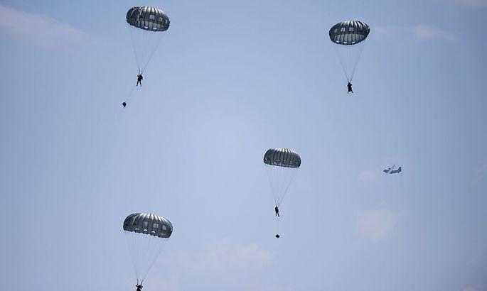 Nato-Truppenübung in Bulgarien.