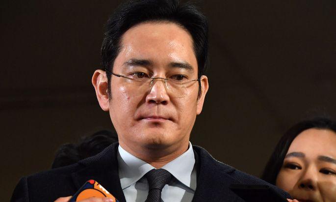 Lee Jae-yong muss sich vor Gericht verantworten