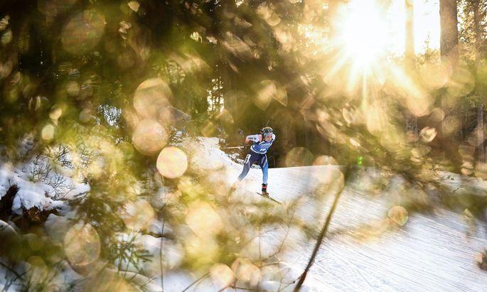 Elisa Gasparin und ihr plötzlicher Lauf an die Weltspitze. Die Graubündnerin bildet mit ihren Schwestern den Kern von Sandra Flungers Erfolgstruppe.