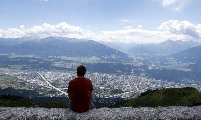 Symbolbild: Blick auf Innsbruck