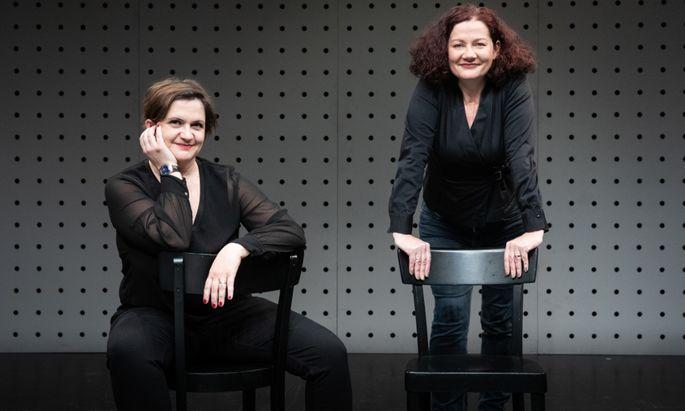 Anita Zieher (rechts) und Magda Leeb.
