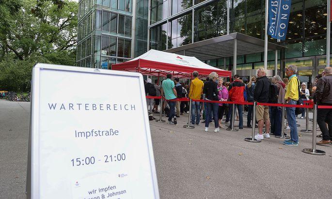 Impfung in Salzburg