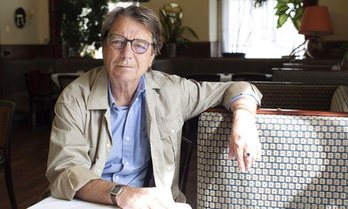 """""""Schriftsteller müssen sich mit Ökonomie, Politik, Naturwissenschaft auskennen"""", sagt Peter Rosei."""