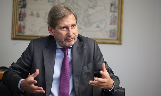 """Hahn appelliert an die türkische Regierung: """"Die Aufschaukelung der Stimmung bei geringsten Anlässen ist nicht sinnvoll."""""""