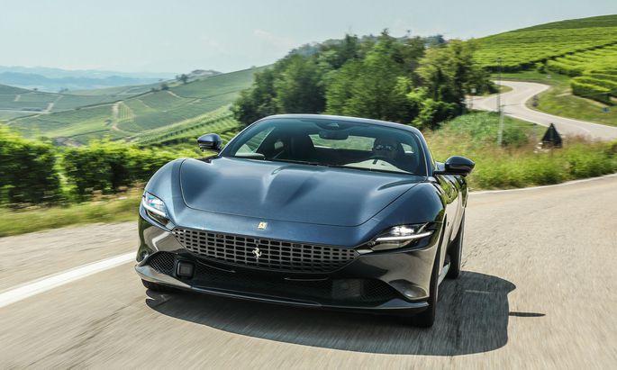 Der Hauptstadt zu Ehren: Ferraris neuer GT mit Biturbo-V8 in Frontmittellage – 620 PS, ab 248.484 Euro.