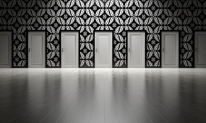 Welche Tür wird sich öffnen?