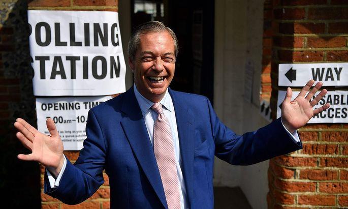 Nigel Farage und die Brexit-Partei haben die EU-Wahl perfekt genutzt.