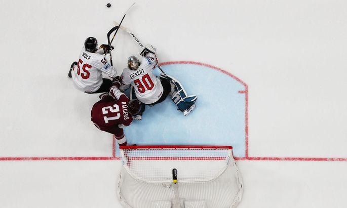 Ice Hockey World Championships - Group B - Latvia v Austria