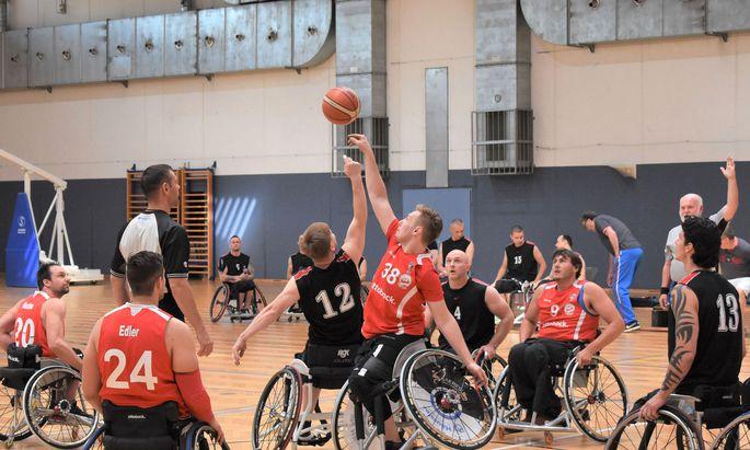 Österreich zählt im Rollstuhlbasketball wieder zur Elite