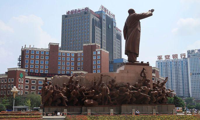 Liu Xiaobo wird im First Hospital der chinesischen Medizinuniversität in Shenyang behandelt.