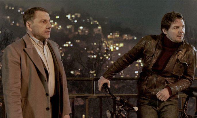 Thorsten Lannert (Richy Müller) und Sebastian Bootz (Felix Klare)