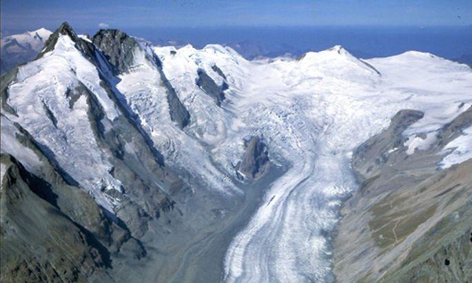 Gletscherschmelze Ende ewigen