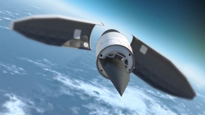 Vergleichbarer Hyperschall-Projekt der USA namens HTV-2