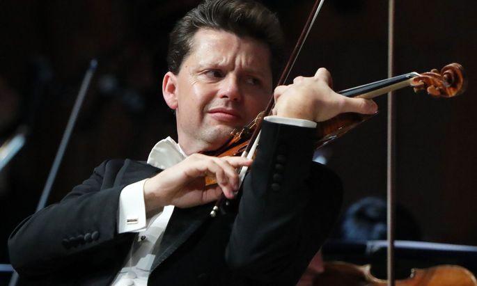 Julian Rachlin bei einem Konzert in Moskau 2019.