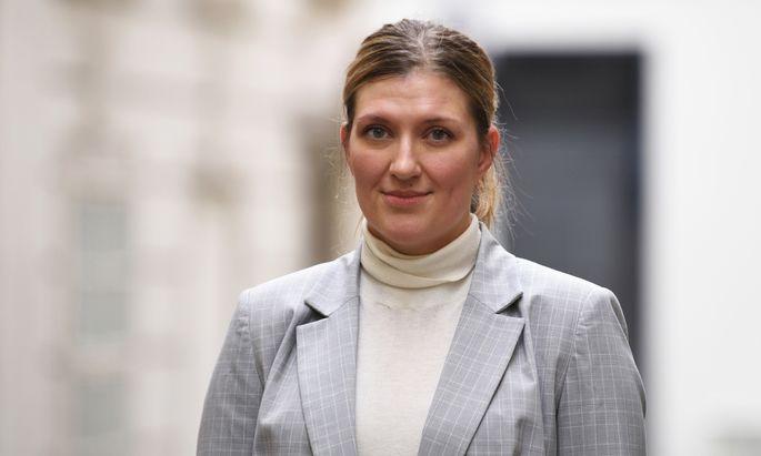 Beatrice Fihn (* 1982) ist studierte Juristin und wurde anno 2014 Direktorin des losen Anti-Atom-Netzwerks Ican.