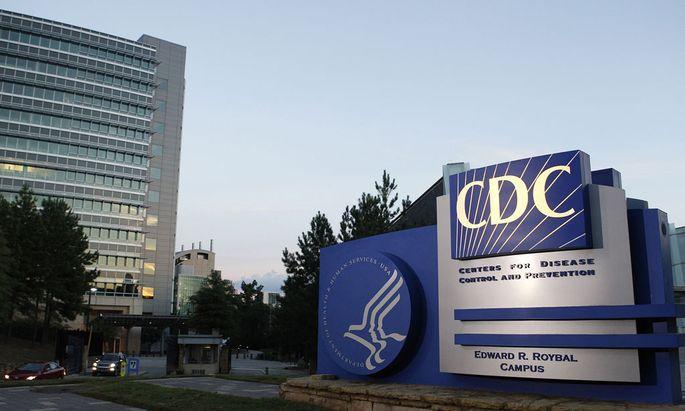 US-Behörde für Krankheitskontrolle und Prävention, das CDC in Atlanta.