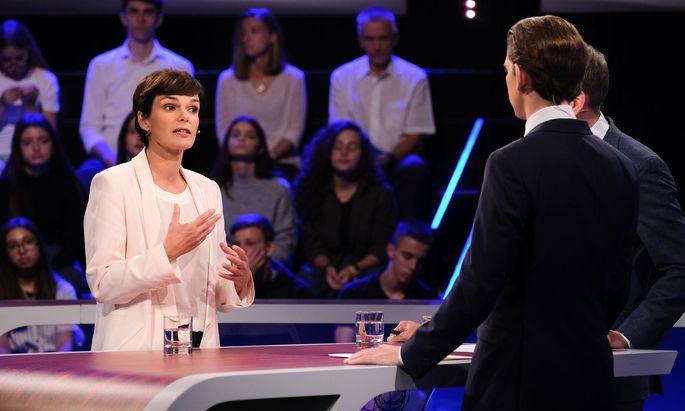 Rendi-Wagner im ORF-Duell gegen Kurz