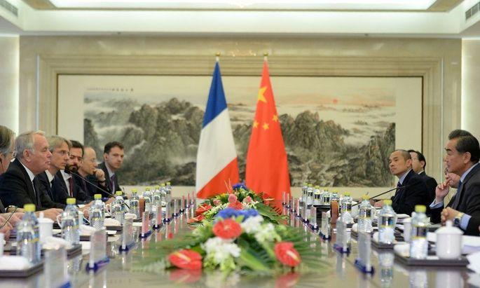 Frankreich und China planen Gelder für gemeinsame Investitionen.