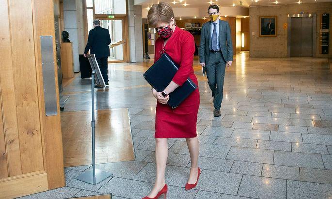Nicole Sturgeon ist Parteichefin der Scottish National Party und Regierungschefin in Schottland.