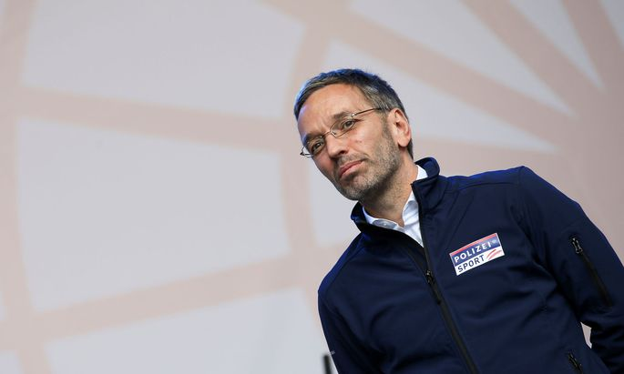 Innenminister Herbert Kickl (FPÖ)