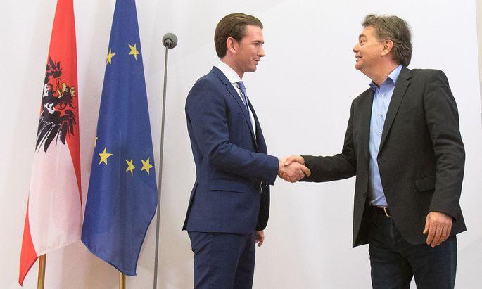 AUSTRIA - POLITIC - VOTE - KURZ - KOGLER