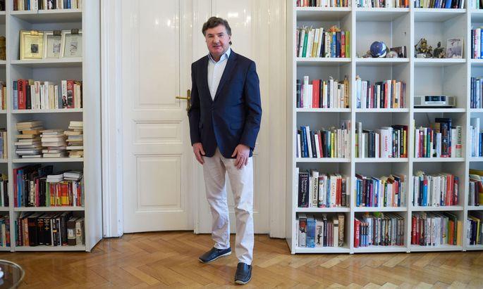 Buchautor und Bildungskritiker Andreas Salcher.