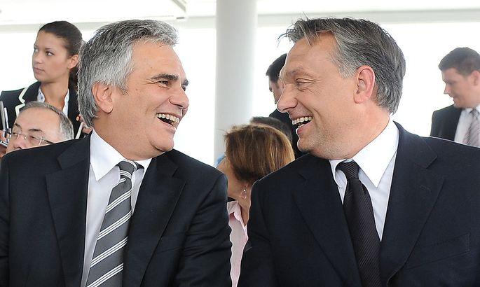 Dass sich Faymann und Orbán so gut verstanden, ist schon etwas länger her (2010)