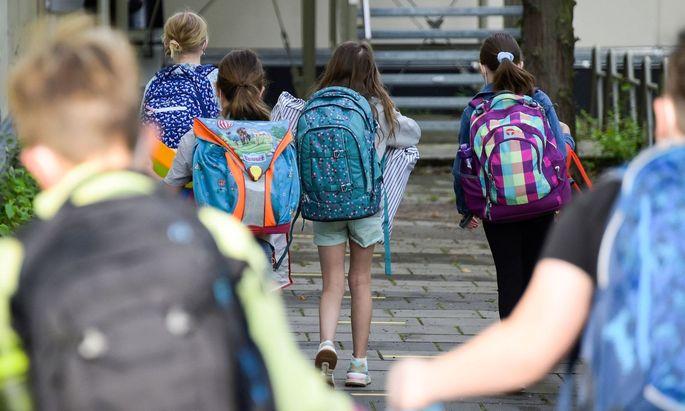 In Wien wurden bereits in der ersten Schulwoche etliche Schüler in Quarantäne geschickt. Derzeit bezieht sich diese auf zehn Tage.