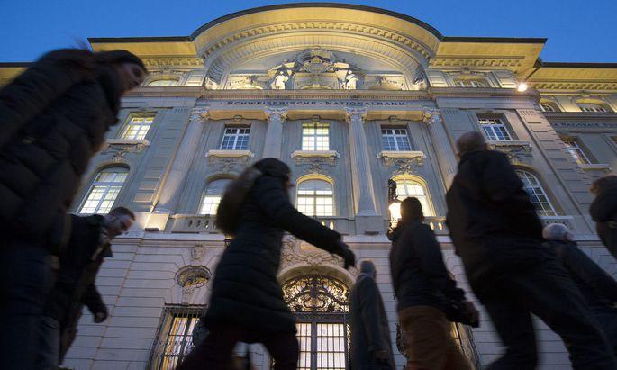 SWITZERLAND NATIONAL BANK INTEREST RATE