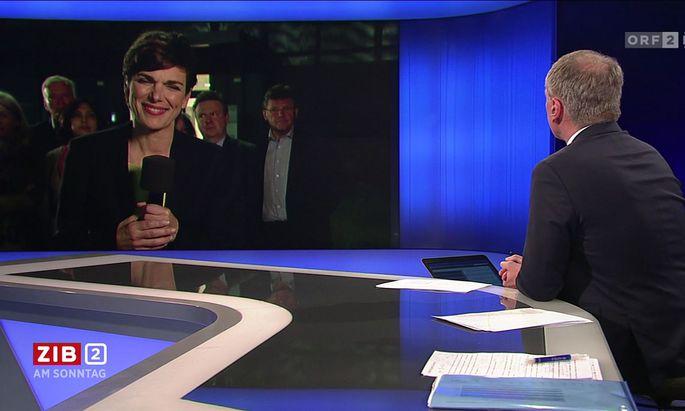 Einer der TV-Momente, die heuer einen bleibenden Eindruck hinterließen: Pamela Rendi-Wagner kurz nach Ibiza in einem spätabendlichen Interview.