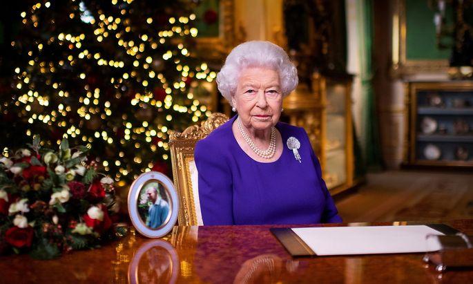 Britain's Queen's Elizabeth II Christmas broadcast