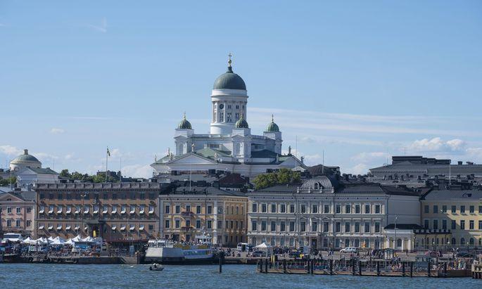 In Helsinki sind die Menschen besonders glücklich.