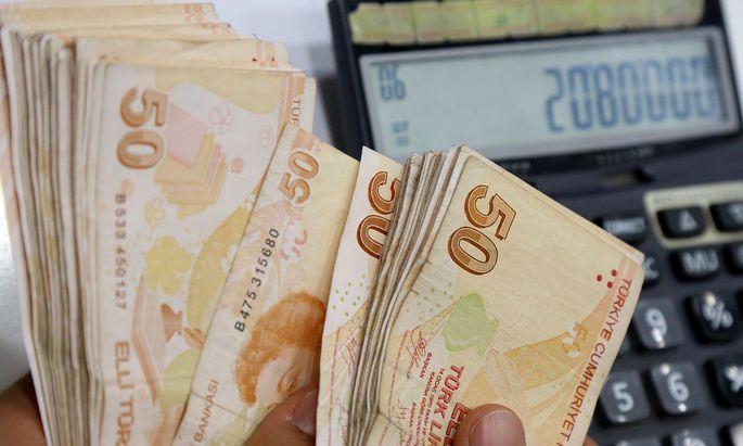 Die türkische Währung verliert rasant an Wert