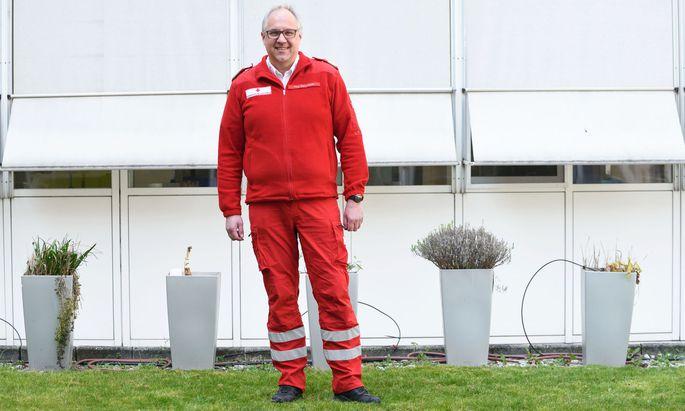 Rot-Kreuz-Manager Gerry Foitik