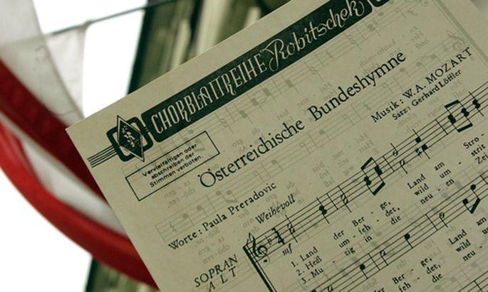 Plan zur Änderung der österreichische Bundeshymne gescheitert