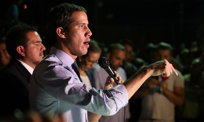 """Juan Guaidó: """"Wir kämpfen gegen eine Diktatur, die tötet, entführt und foltert"""""""
