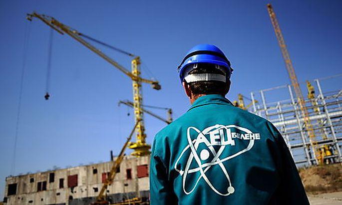 Die Baustelle für das Akw im September 2008.