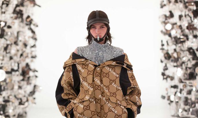 Ein hybrider Gucci-Balenciaga-Look.