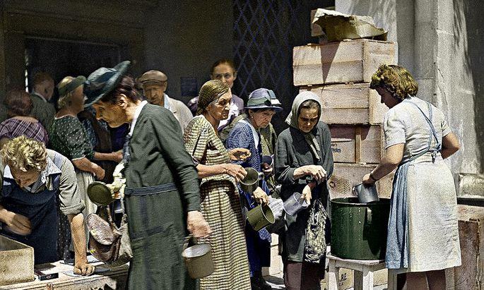 Die Frauen sorgten für die elementaren Grundbedürfnisse: Die Heldinnen der ersten Stunde.