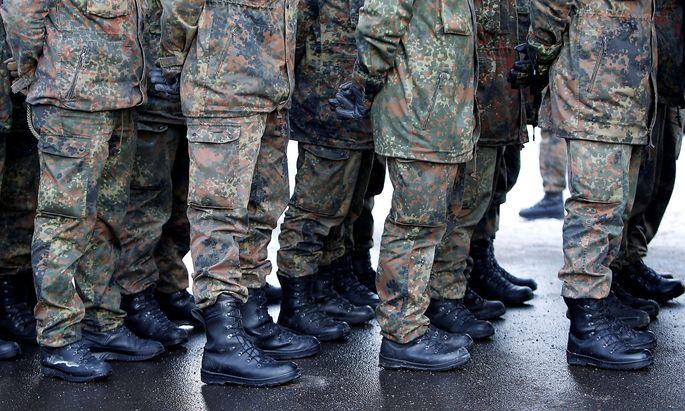 Der zuletzt in Illkirch stationierte rechtsextreme Offizier Franco A. sitzt inzwischen in Untersuchungshaft.