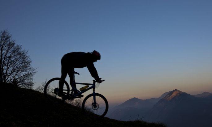 Die einfache Freude, Rad zu fahren . . .