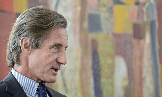 Regierungssprecher Peter Launsky-Tieffenthal.